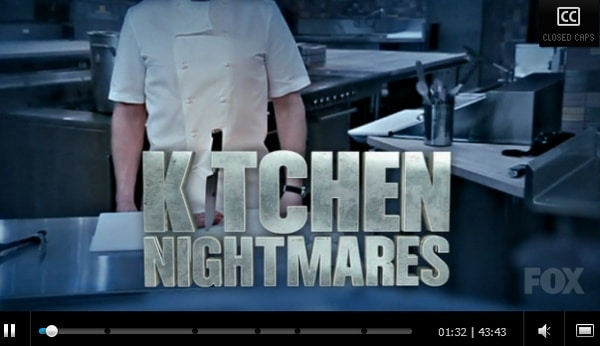 Fox - Kitchen Nightmares