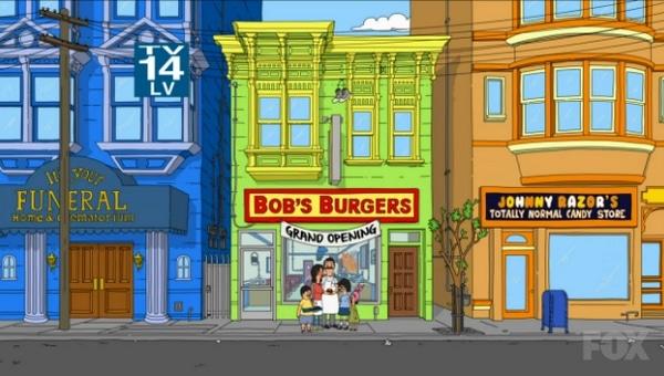 Fox online - Bobs Burgers