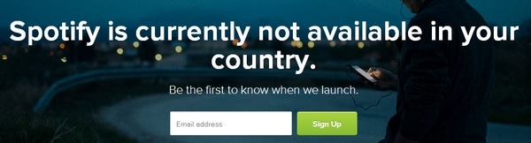 how to change my country on spotify