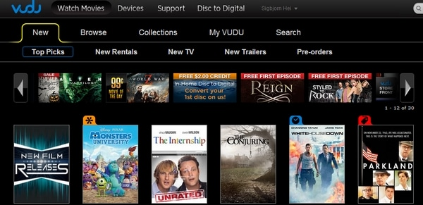 Watch Vudu from abroad