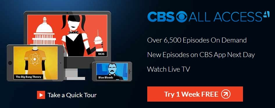 CBS All Access from outside the USA