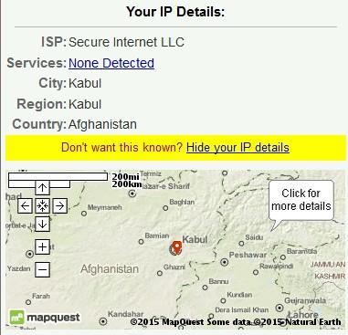 Afghan IP address
