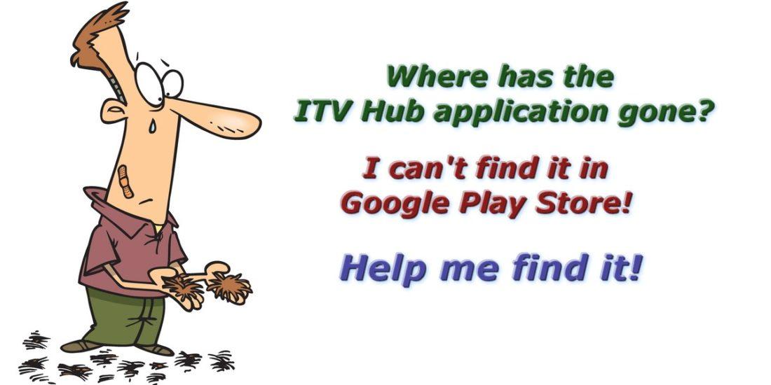 itv hub app went missing
