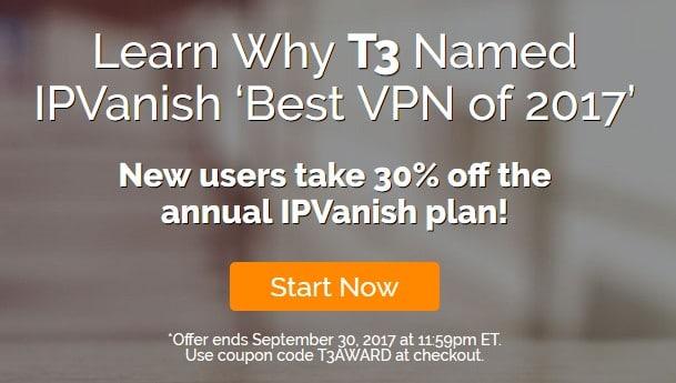 IPVanish discount