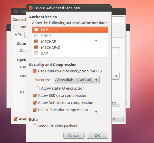 How to use StrongVPN in Ubuntu?