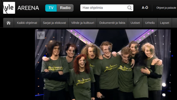 Watching YLE from outside Finland