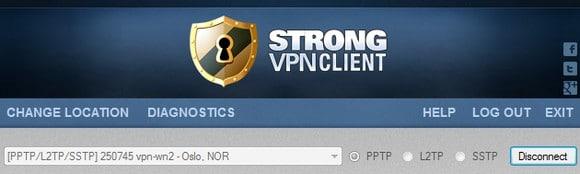 Få norsk IP adresse med StrongVPN