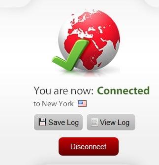 Express VPN screenshot