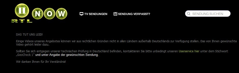 How to watch RTL outside Germany?