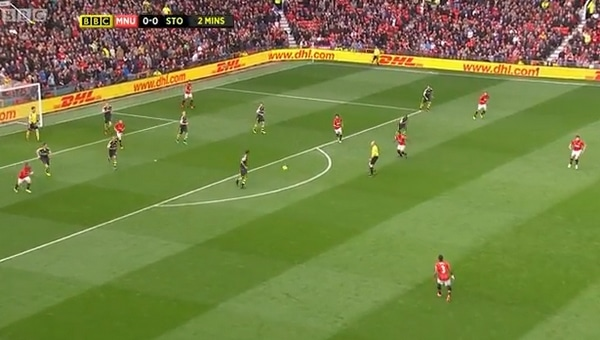 BBC - Manchester United playing