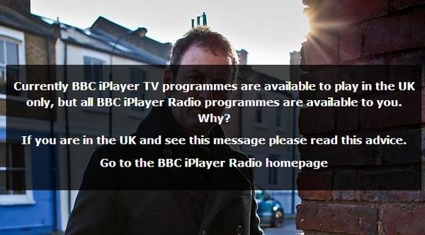 Hur kan man se BBC IPlayer utanför England?