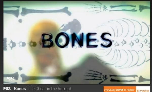 Vi ser på Bones på Hulu