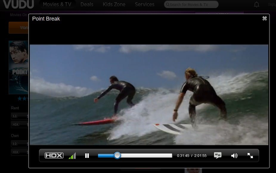 watching-point-break-on-vudu