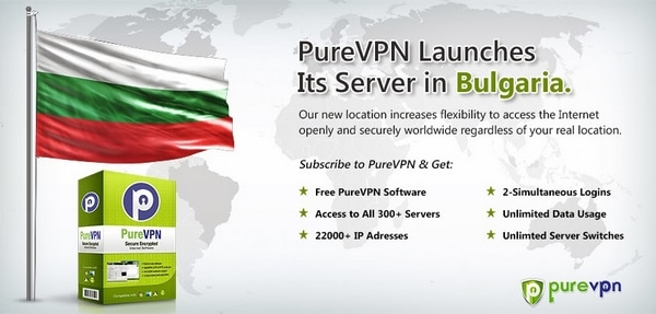 PuREVPN in Bulgaria