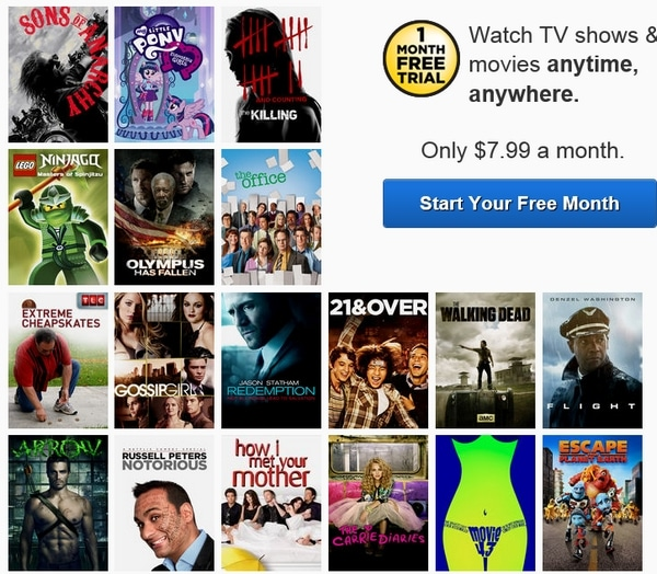 Some of the stuff you can watch on Netflix