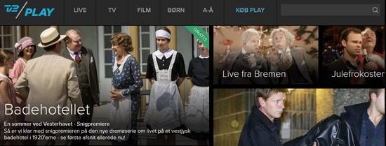 TV2 Play i Danmark