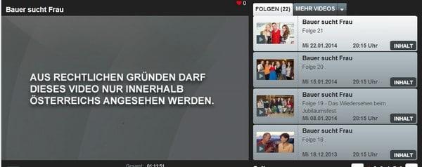 Wie kann man ATV und ORF im Ausland schauen?