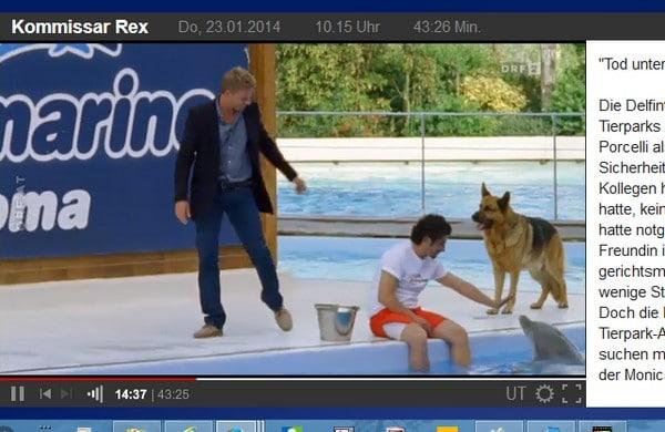 Rex auf ORF im Ausland