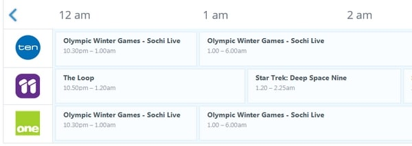 Watch Winter Olympics online on Network Ten in Australia!