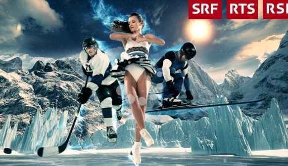 SRF winter olympics not working