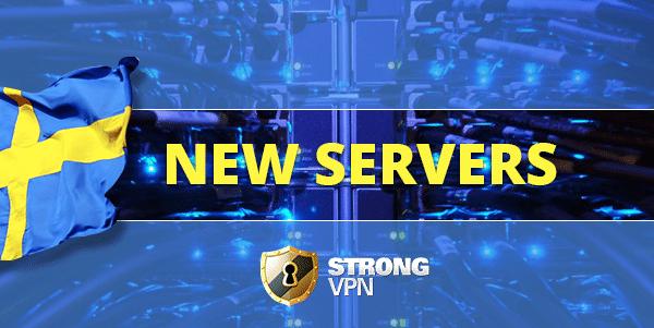 StrongVPN in Sweden