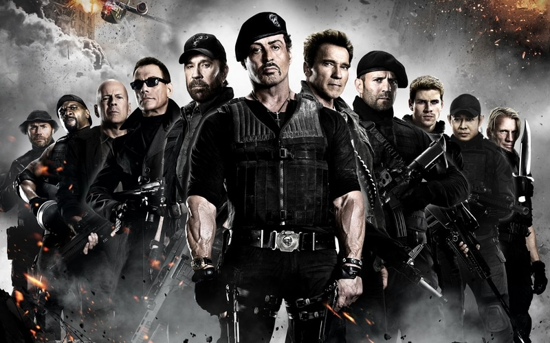 The Expendables on Netflix