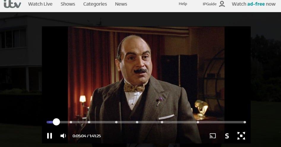 David Suchet som Hercule Poirot i ABC-morden på ITV