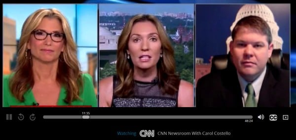CNN Live on Sling TV