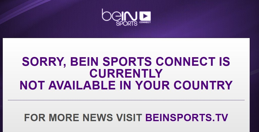 beinsports from abroad
