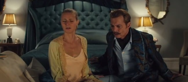Mortdecai on UK Netflix
