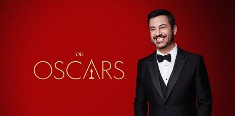 Watch the Academy Awards 2018 online with Jimmy Kimmel as host