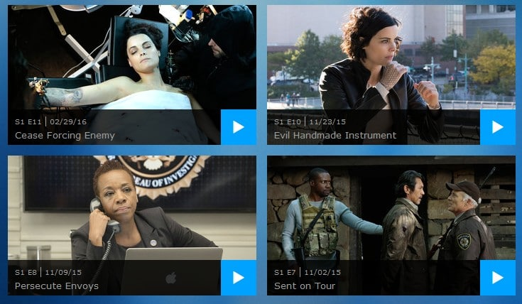 How to watch Blindspot online?