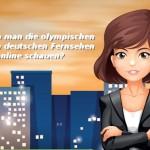 Wie kann man die olympischen Spiele im deutschen Fernsehen online schauen?