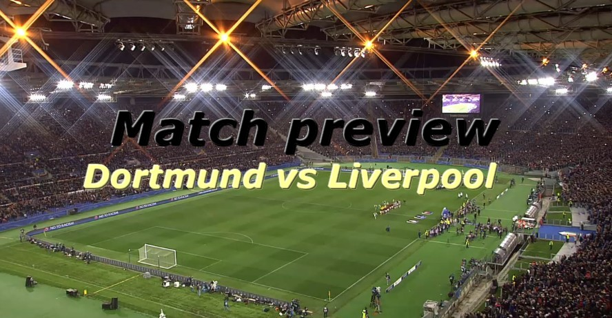 Se Dortmund - Liverpool online den 7 april