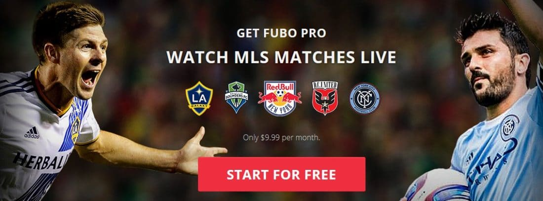 Watch Major League soccer online in Europe