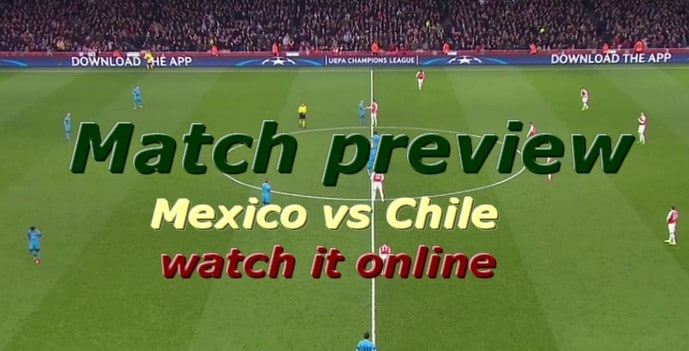 mexico vs chile online