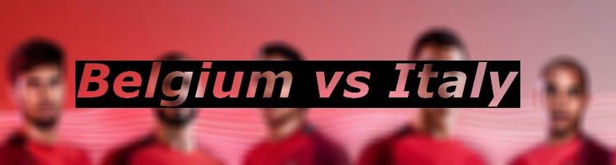 watch belgium vs italy