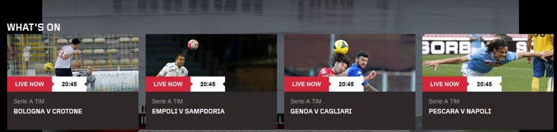 Watch Serie A online
