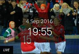 Norge Tyskland på nettet
