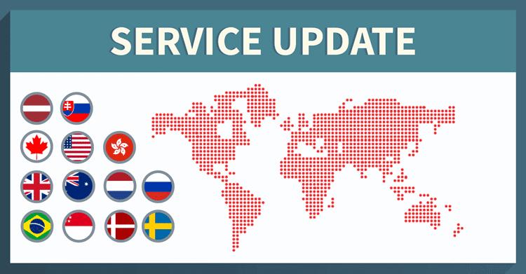 NordVPN server update