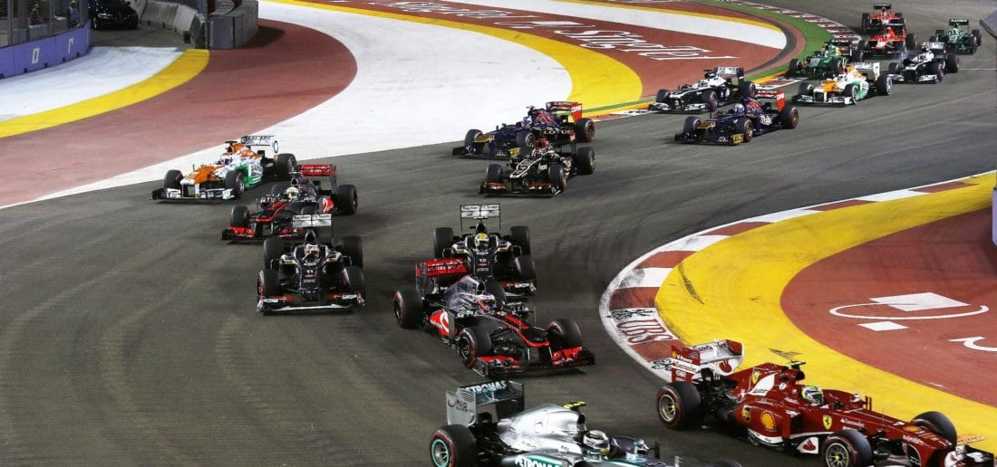 Get ready for the Singapore Grand Prix