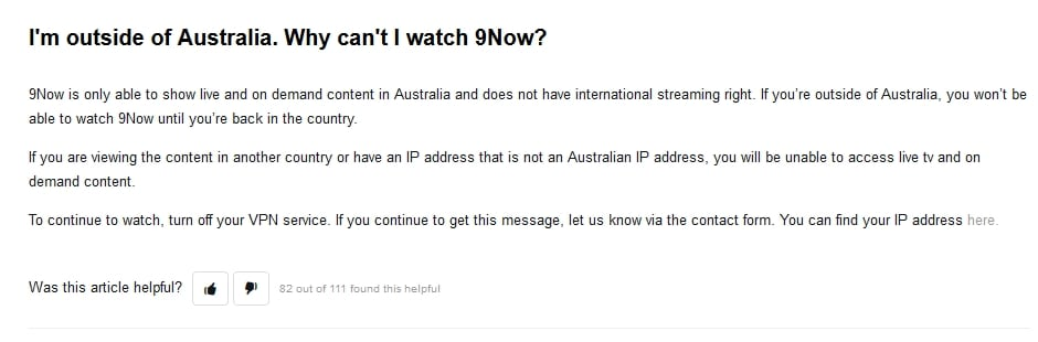 How to watch 9Now from abroad? [2020 version]