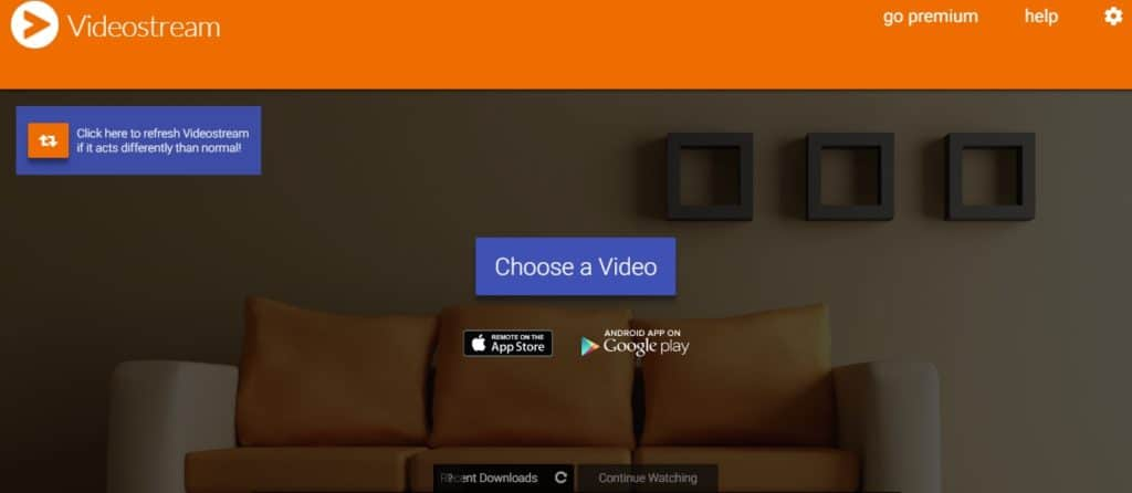 Cast movies from Chrome to your Chromecast with Videostream!