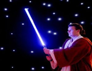 Buy someone a lightsaber for Christmas