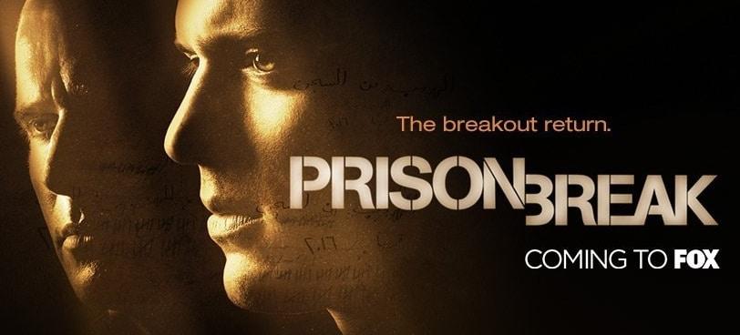 Prison Break season 5 on Hulu in April 2017