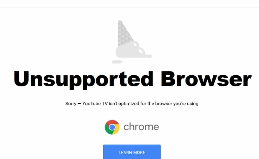 YouTube TV is here with no support for Firefox