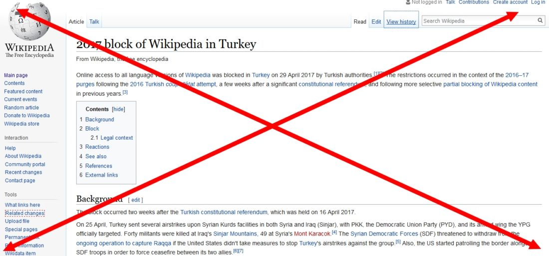 Turkey limiting access to information by blocking Wikipedia