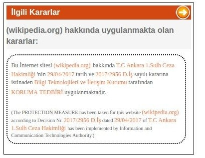 wikipedia block in turkey