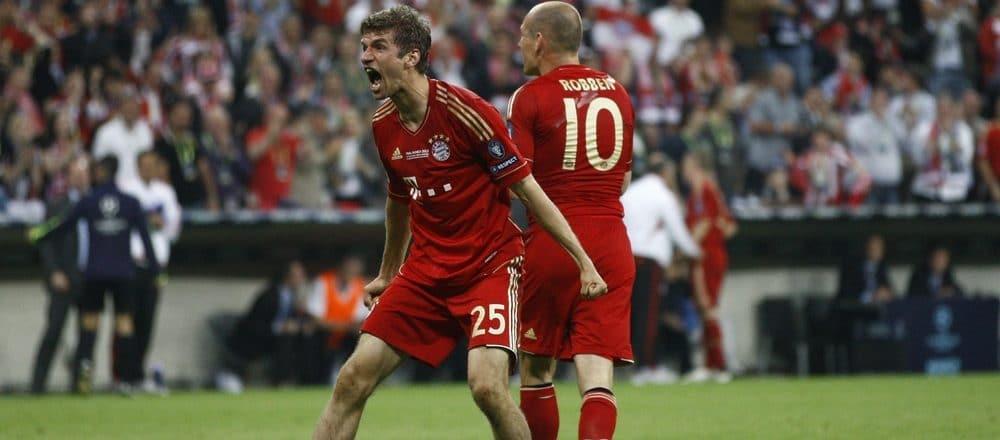 Bayern Munchen vs Bayer Leverkusen in the Bundesliga opening match