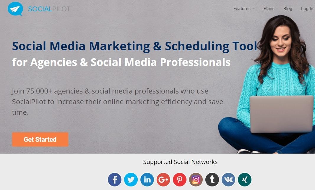 We now use SocialPilot